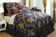 Arlington Patchwork Star King Quilt by VHC Brands