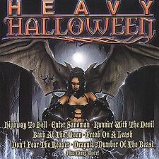 Heavy Halloween - V/A, ac/dc, kiss, metallica, iron maiden, black sabbath CD