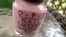 OPI I Think In Pink LACQUER # H38 SHIPS TODAY HTF RARE PASTEL PINK