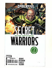 Secret Warriors #2 (2009 Marvel) VF/NM Hickman Bendis Agents of Shield 1st Hive!