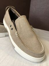 Kenneth Cole Reaction Men Ankir Slip On Shoes Size 7.5 M Tan Denim