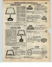 1937 PAPER AD 4 PG Coleman Gas Gasilne Instant Lite Lamp Lantern Parts Repair
