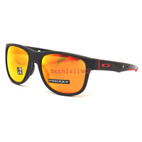 Oakley Crossrange R Sunglasses OO9359-0457 Matte Black Frame W/ PRIZM Ruby Lens