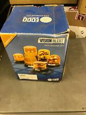Boxed Unused VisionAlert Magnetic Rotating Amber Beacon 12v/24v (No Bulbs)