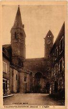 CPA VILLENEUVE d'Aveyron - L'Église (474982)