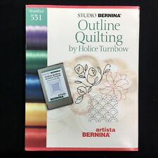 Outline Quilting Embroidery Designs Card #531 For Bernina Artista & Deco
