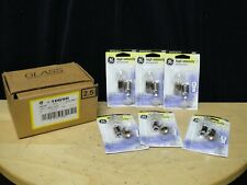 GENERAL ELECTRIC - SPECIALTY BULB - 12 W 200 LUMENS S8 BASE - QTY 2 Lot of 6