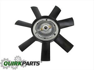 2004-2006 Sprinter Radiator Engine Cooling Fan And Clutch Drive OEM NEW MOPAR