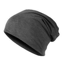Chapeaux gris coton mélangé pour homme