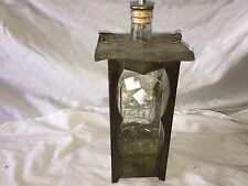 Vinegar Decanter with broken Music Box  Krewe of Iris 1960 Gift store#D2