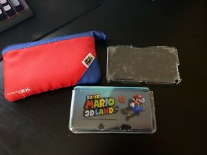 Super Mario 3D Land Hard Shell Protective Cover W/Carrying Case Nintendo 3DS