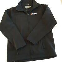 Men's The Realm Black jacket Showerproof coat Vintage surf Brand Size Small NOS