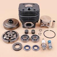 Cylinder Piston Clutch Crank Bearing Kit For Husqvarna 262 262XP 261 Saw Nikasil