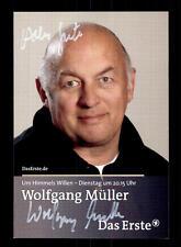 Wolfgang Müller Um Himmels willen Autogrammkarte Original  # BC 104770