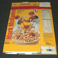 1999 Safeway Mark McGwire & Son, Tony La Russa Replica Signature Cereal Box