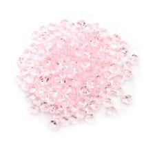 100pcs Acrylic Crystal Ice Rock Stones Aquarium Vase Gems Table Wedding Decor ES
