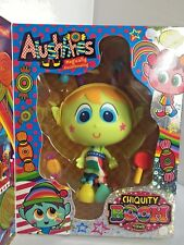ALUSHHHES Green with Blue Eyes Chiquity Boom Town Distroller