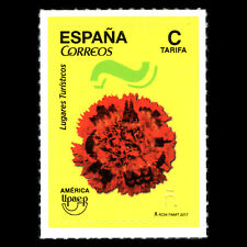 "Spain 2017 - America UPAEP Issue ""Tourist Destinations"" - MNH"