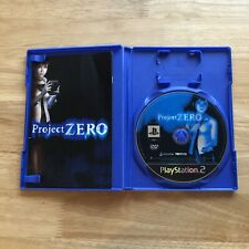 Project Zero - Playstation 2 PS2 Game - PAL Complete - Retro Horror