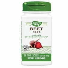 Beet Root European 100 Caps by Nature's Way