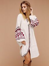 FREE PEOPLE NWTIn the Clear Embroidered Dress WHITE M Or L