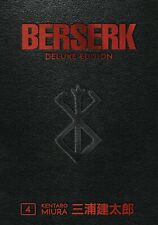 Berserk Deluxe Edition Hardcover Volume 4 Kentaro Miura Manga GN HC New Mint
