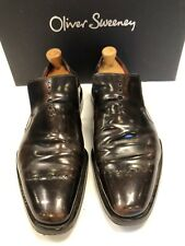 Oliver Sweeney Brown Leather Shoes Size 8