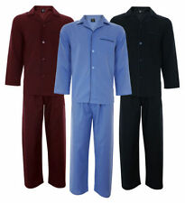 Cargo Bay Long Sleeve Button Front Nightwear for Men