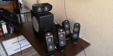 Logitech X-530 5.1 Surround Sound Speaker System ( gut erhalten )