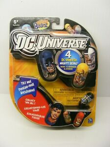 Mighty Beanz Dc Universe 4 pack Moose, new