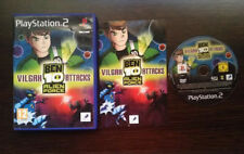 Ben 10 alien force vilgax attacks ps2 play station 2 pal