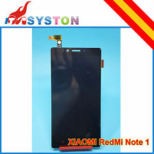 Pantalla Completa para Xiaomi Redmi Note Lcd + Tactil Negra Display Red Mi 3G 4G