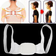 Polyester Adjustable Posture Shoulder Back Support Belt Brace Back Corrector Bra