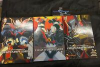 GO NAGAI presents MAZINKAISER vol 1 2 3 (no dvd)