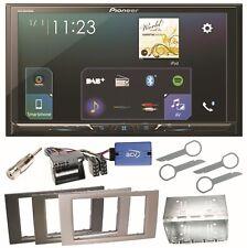 Pioneer SPH-DA230DAB Bluetooth USB Einbauset für Ford Focus Fusion Galaxy S-Max