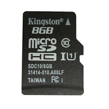 Kingston 8GB Micro SD SDHC 8GB TF C10 Memory Card Memoria For Phone Tablet New
