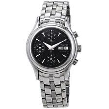 Hamilton Men's Linwood Black Dial Swiss Chronograph Automatic Watch H18516131