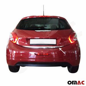 Kofferraumleiste für Peugeot 208 2012-2020 Chrom Heckleiste Zierleiste Edelstahl