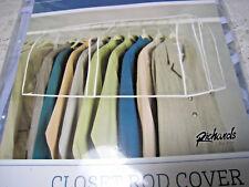 "Vinyl Storage Closet Garment Cover Richards Homewares 36""x22""x18"" PKG"