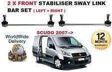 PER FIAT SCUDO 2007- > 2x Ant Sx + DESTRO Tirante barra stabilizzatrice