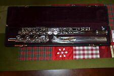 Yamaha Flute YFL-371HIIAL Allegro Series Silver and Gold  Reconditioned