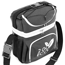 Cooler Lunch Box for Adults Freezable Insulated Cool Bag Hot Cold Durable Caddy