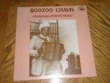 BOOZOO CHAVIS / LOUISIANA ZYDECO MUSIC ~ 1986 Maison de Soul ~ NEW MINT ~ SEALED