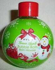 (100 ml = 2,50 €) Avon - Weihnachtsedition Bubble Bath Schaumbad - Grüner Apfel