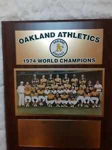 1974 Oakland Authentics World Championship Plaque