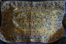 TAPISSERIE INDE BRODERIE KUTCHI VINTAGE GYPSY GUJARAT TAPESTRY EMBROIDERY RABARI