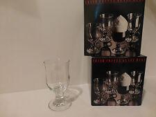 Dansk Clear Glass Irish Coffee Mugs, Set of 8, Belgium    (S4