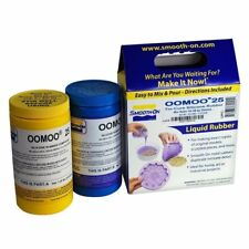Smooth-On OOMOO 25 Silicone - Mold Making - Trial Units 2 Pints Each Kit - BNIB