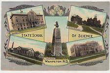 Wahepton,No.Dakota,State School of Science,Now N.D State College,5 Views,c.1909