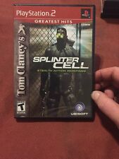 Tom Clancy's Splinter Cell (Sony PlayStation 2, 2003) Complete